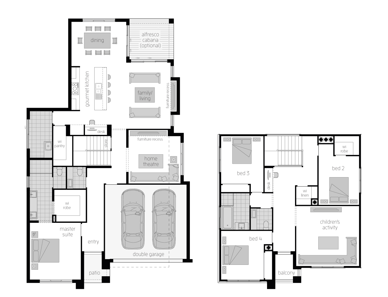 Cranbourne 32 floorplan