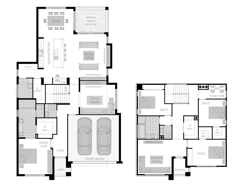 Cranbourne 34 floorplan
