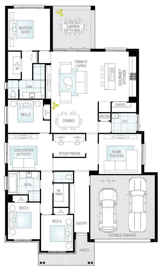 Portillo floorplan lhs
