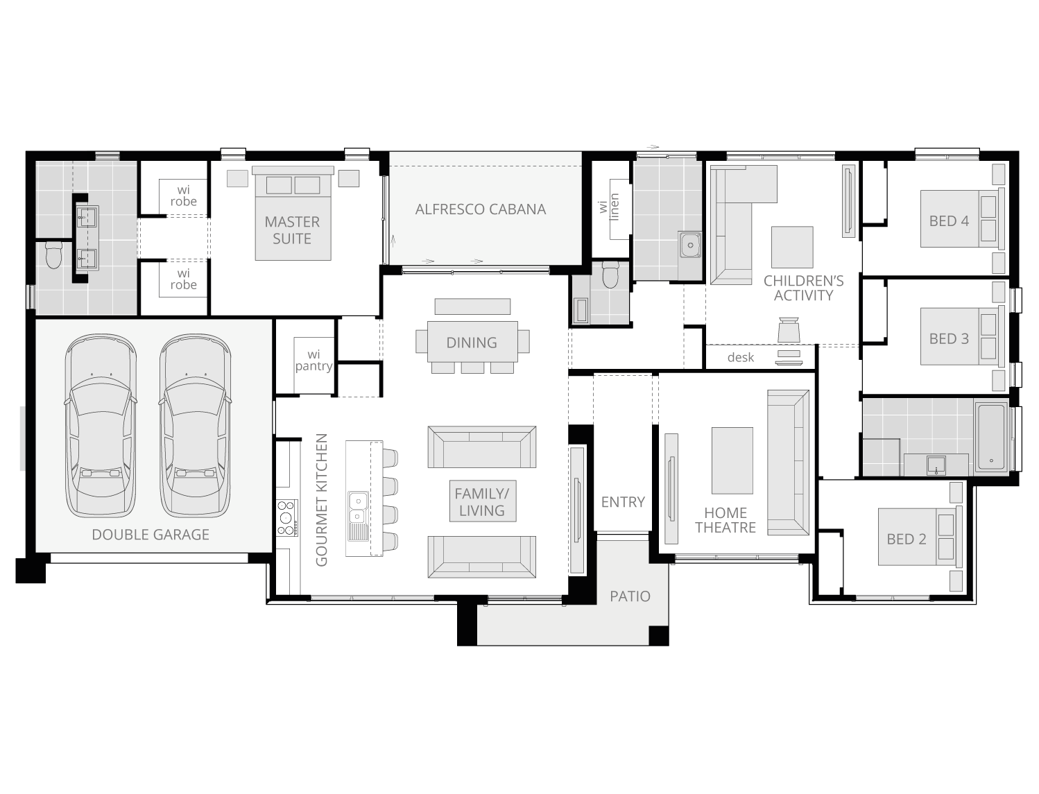 Cumbria Standard floorplan