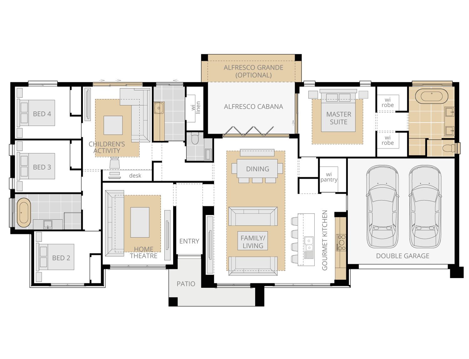 Cumbria upgrade floorplan