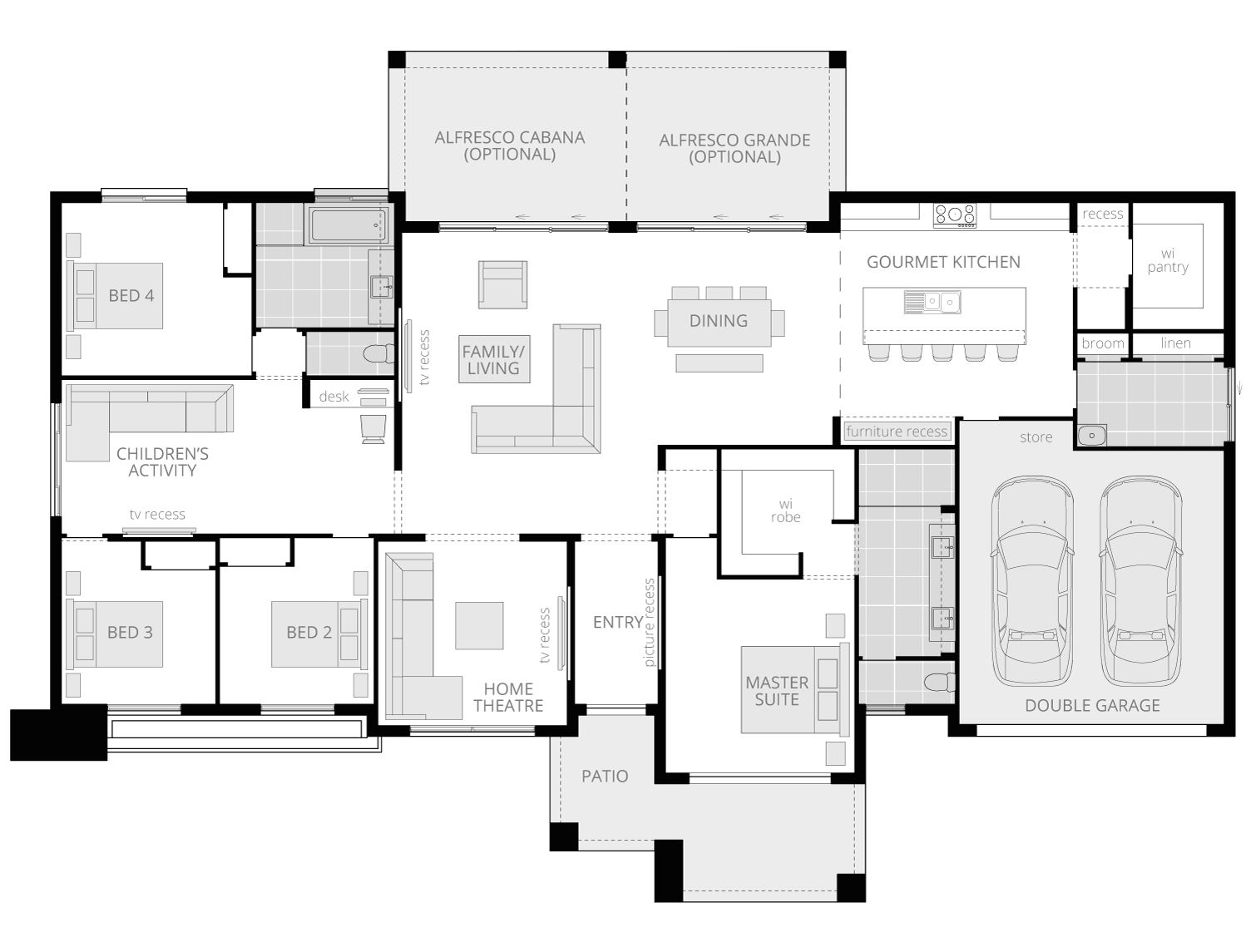 Esperance Grande- Acreage Floor Plan- McDonald Jones