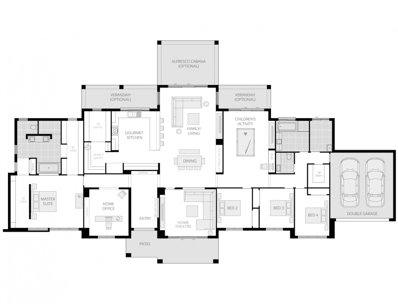 Hermitage Grande- Acreage Floor Plan- McDonald Jones