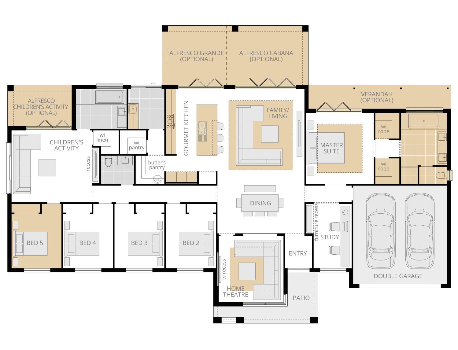 Lyndhurst Grande- Acreage Floor Plan Upgrade- McDonald Jones