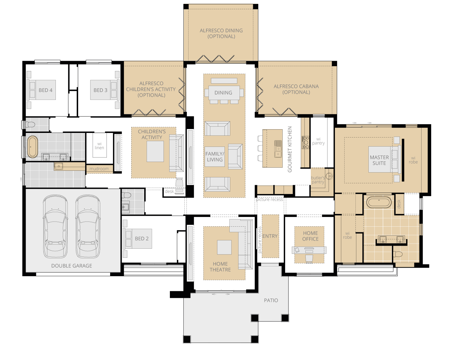 Montrose- Acreage Floor Plan- McDonald Jones