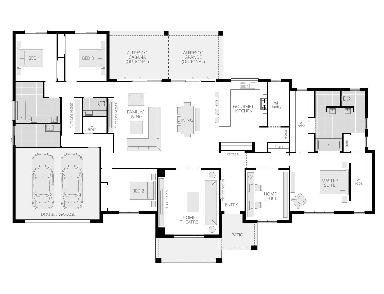 Balmoral floorplan lhs