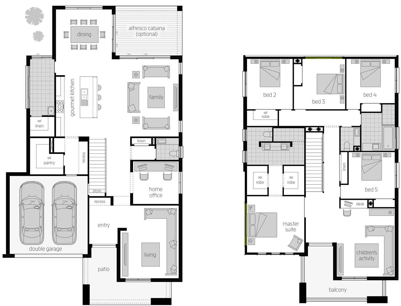 Floor Plan - Saxonvale 40 - McDonald Jones Homes