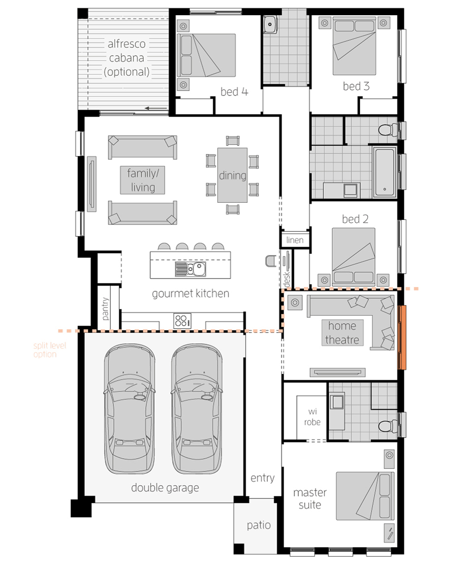 Floor Plan - Sierra - McDonald Jones