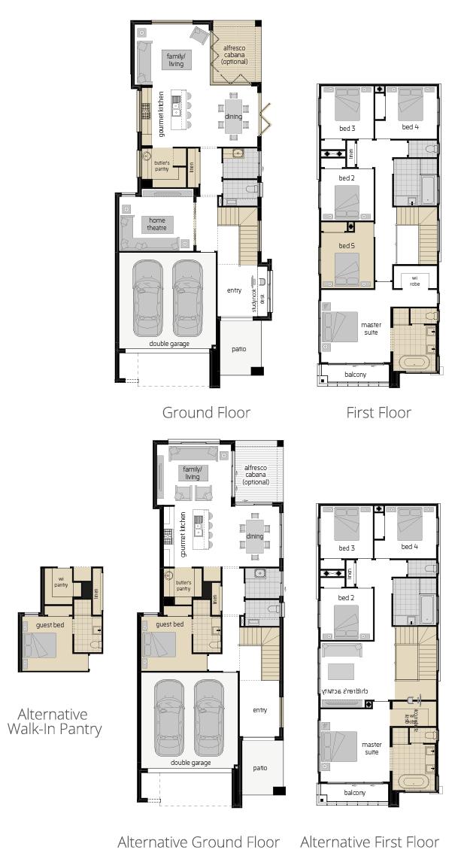 Lancaster 29- Two Storey Floor Plan Upgrade- McDonald Jones