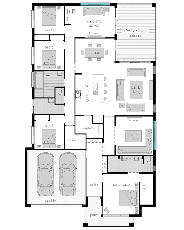 Floor Plan - Coolum One Zero