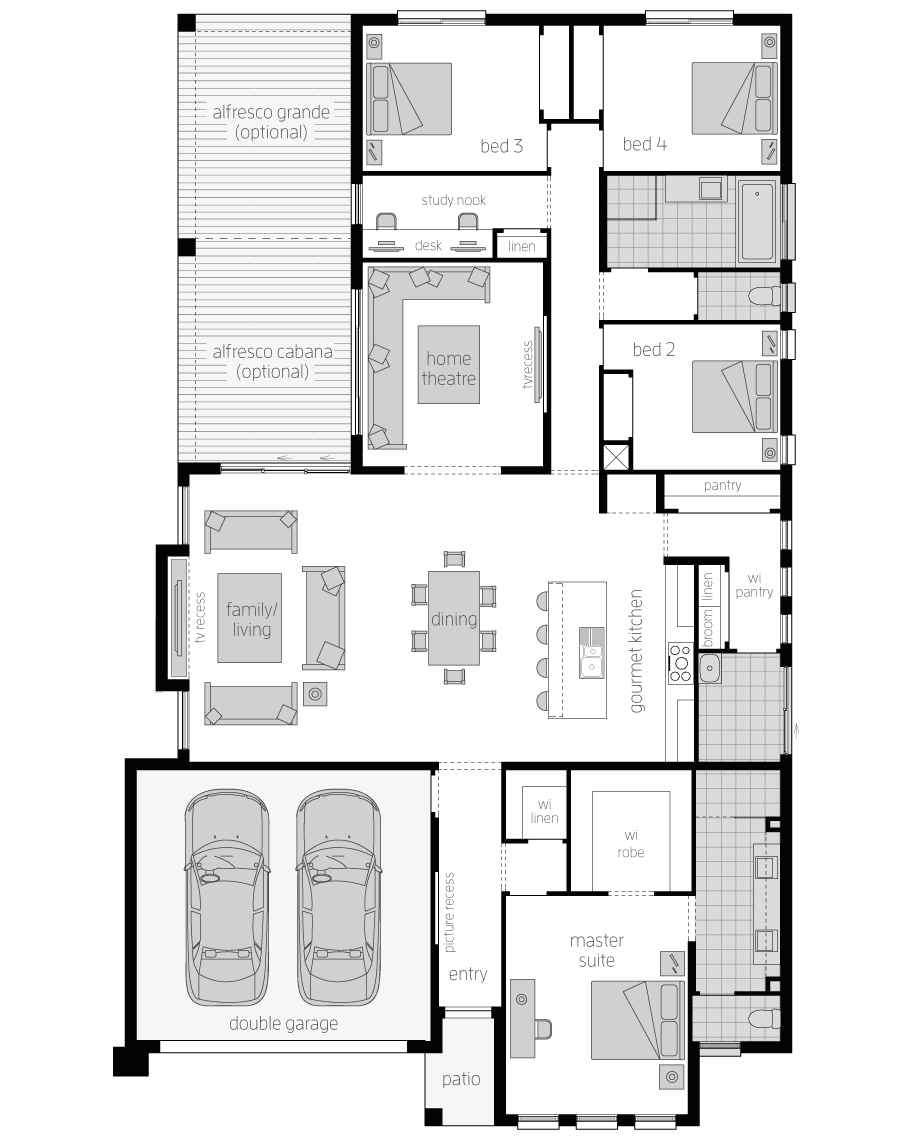 Floor Plan - Metala