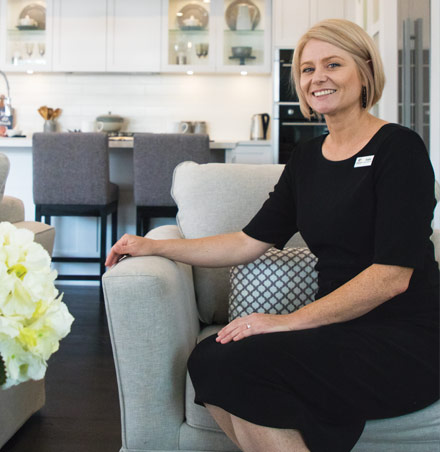 Angela Workman, Building and Design Consultant, McDonald Jones Homes