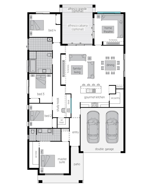 Floor Plan - Essington One - McDonald Jones