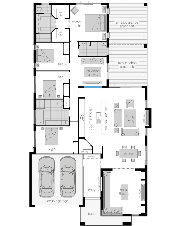 Floor Plan - Monte Carlo - McDonald Jones