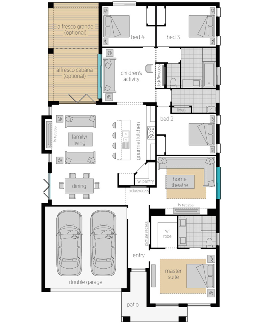 Floor Plan-Havana-28-Upgrade-McDonald Jones