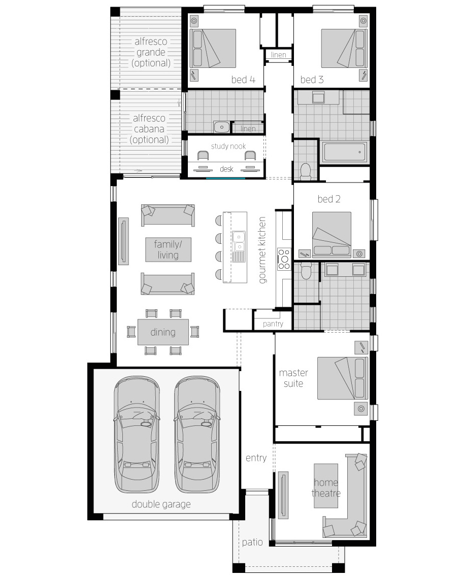 Floor Plan-Havana-28-Zero-McDonald Jones
