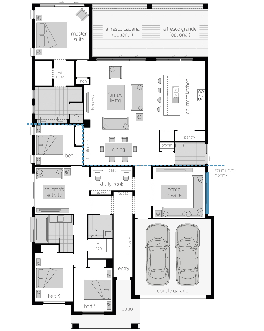 Floor Plan - Miami 15 - McDonald Jones