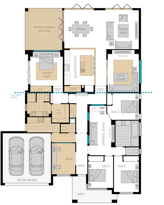 Floor Plan - Milano 15 - Upgrade - McDonald Jones
