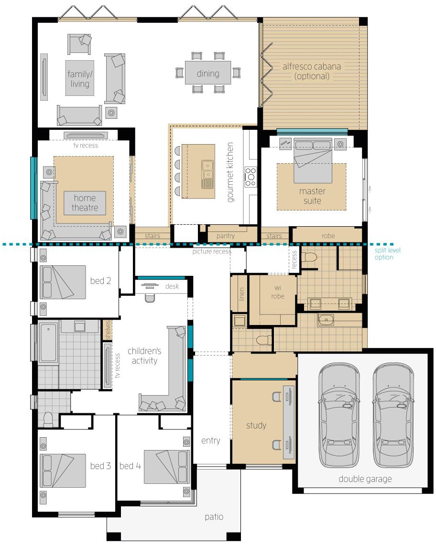 Floor Plan - Milano 16 - Upgrade - McDonald Jones