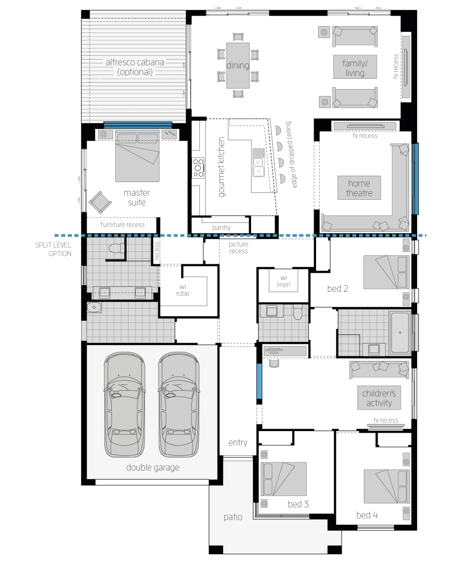 New Floor Plan - Monaco One - McDonald Jones