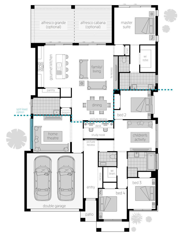 Floor Plan - Portofino - McDonald Jones