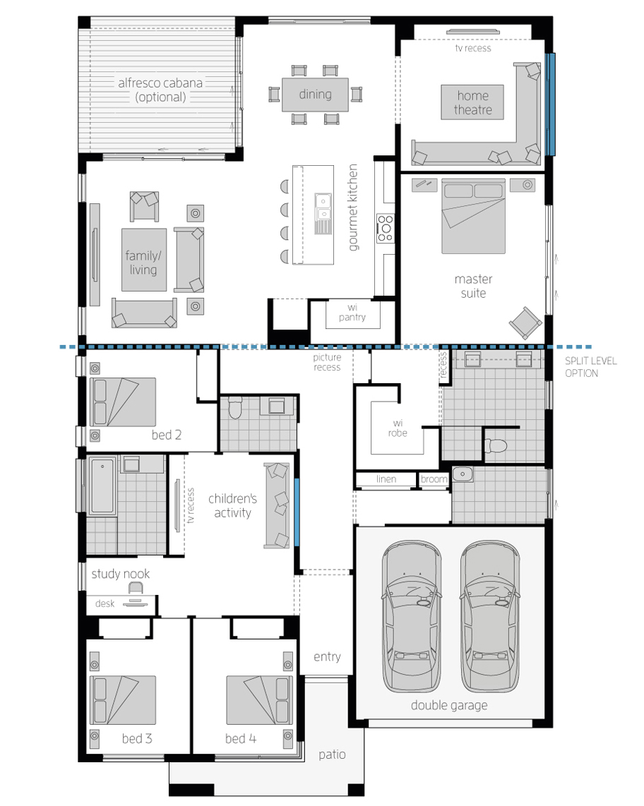 Floor Plan-San-Marino-Executive-16-Standard-McDonald Jones Homes-lhs