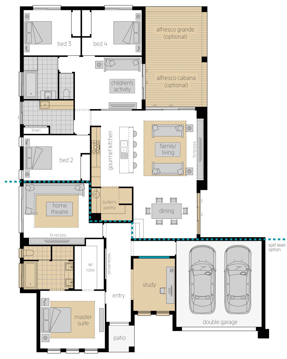 Floor Plan - Havana Encore - McDonald Jones