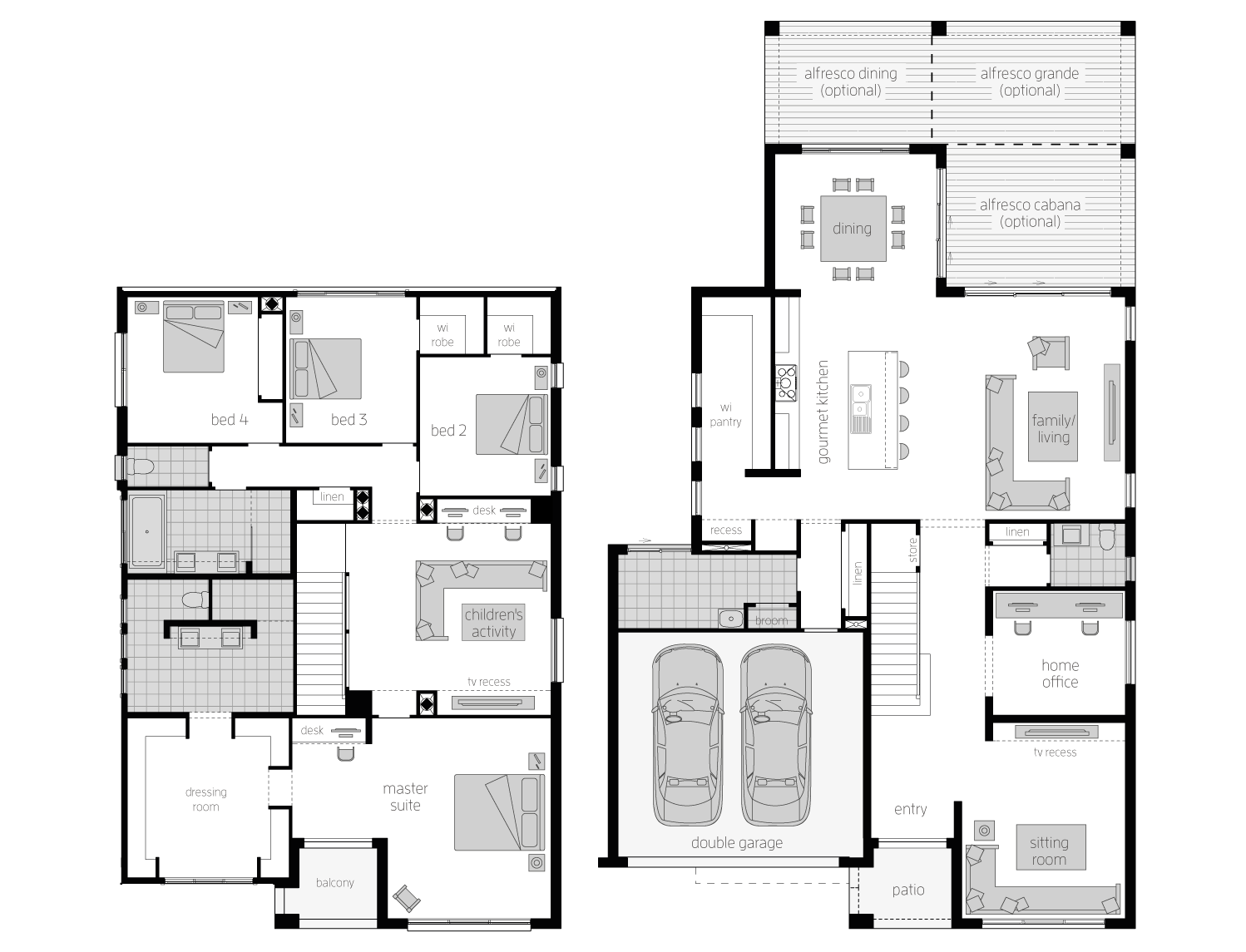 Floor Plan - Metropolitan40 - Two Storey Home - McDonald Jones
