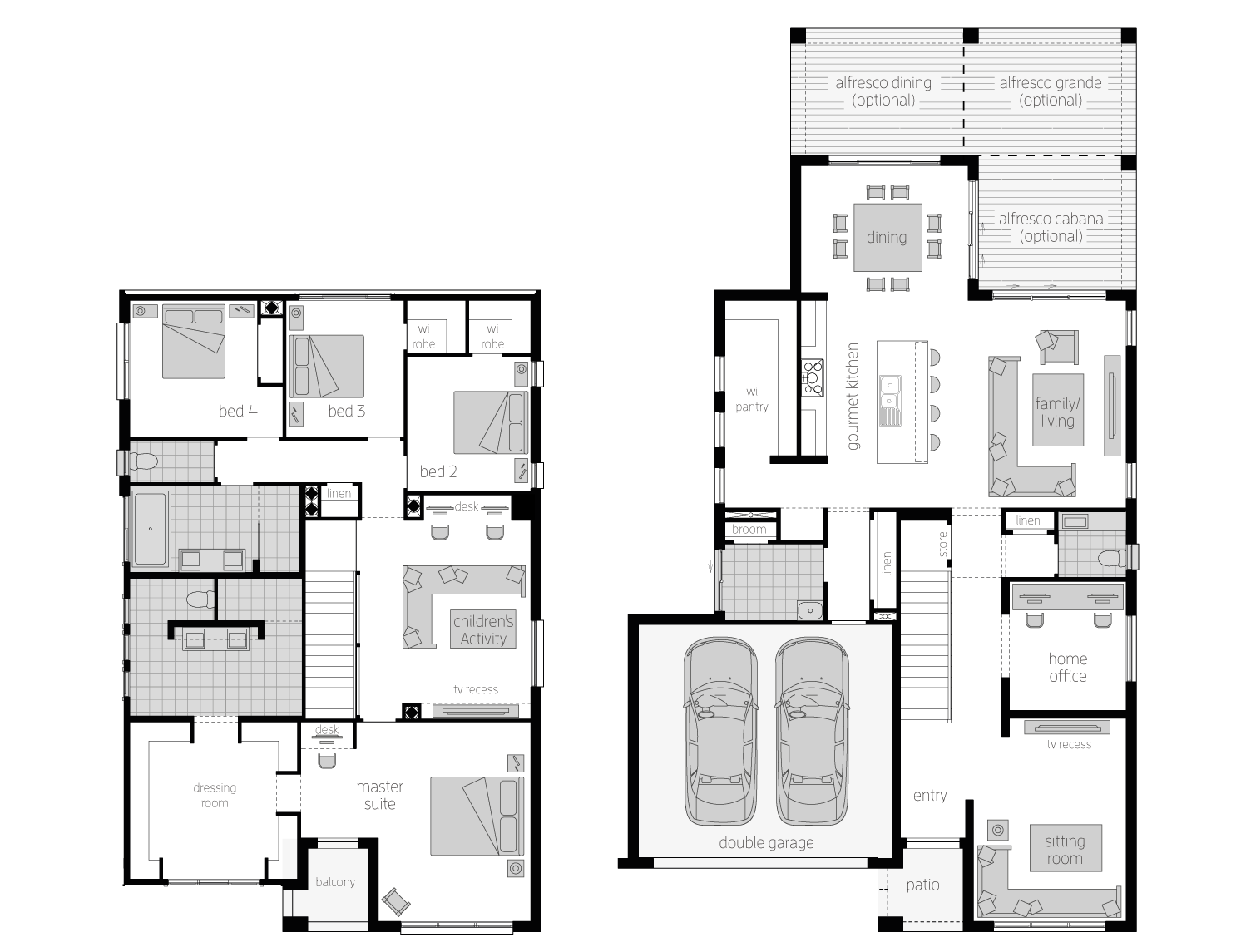 Floor Plan - Metropolitan35 - Two Storey Home - McDonald Jones