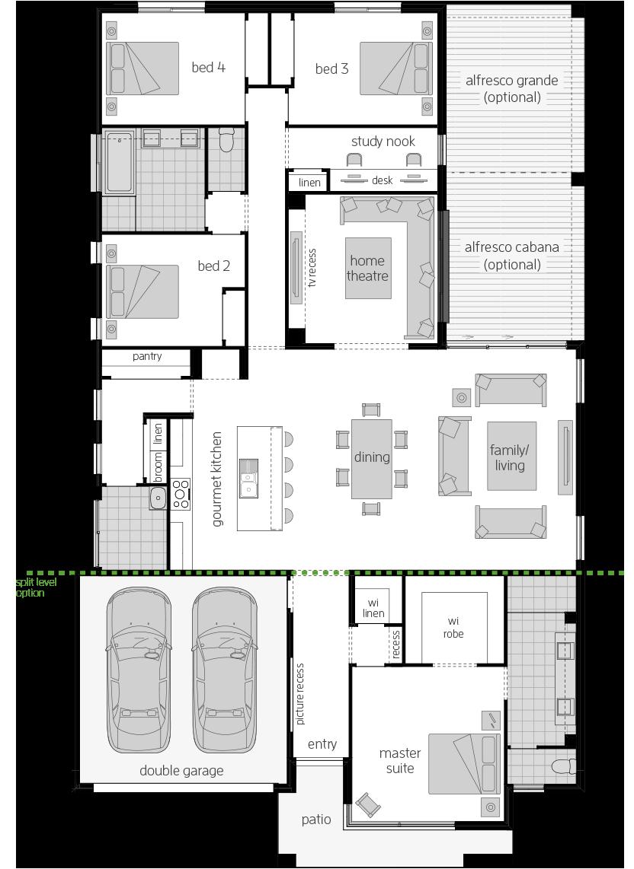 Broadbeach 16 floorplan lhs