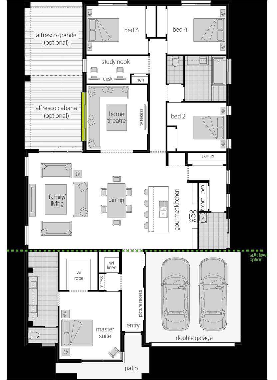 Broadbeach Zero floorplan lhs