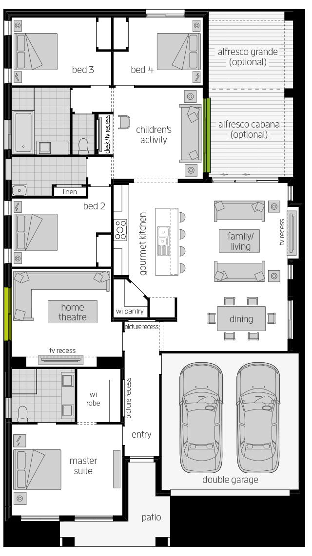 Havana 28 floorplan lhs