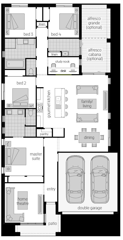 Havana 28 Zero floorplan lhs