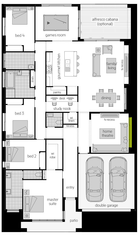 Botanica floorplan lhs