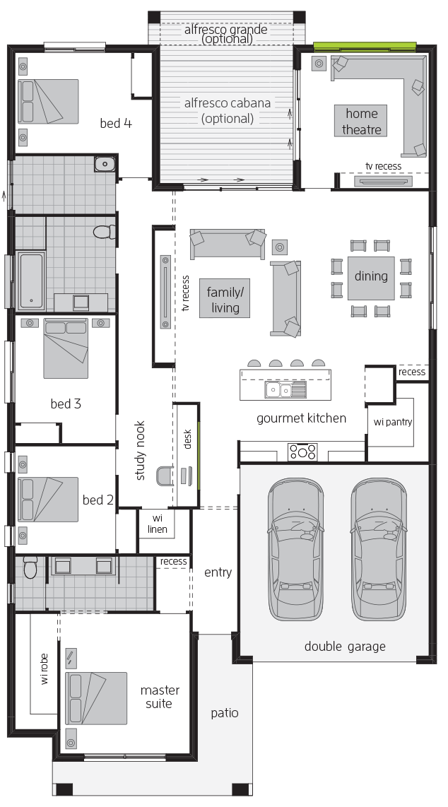 Essington floorplan lhs