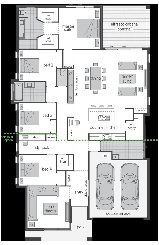 Vienna floorplan lhs