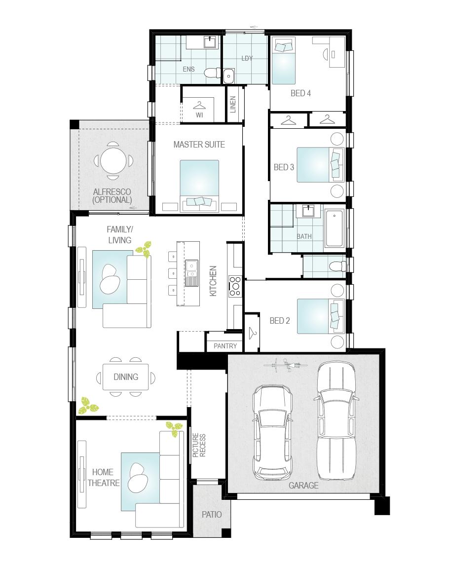 Floor Plan - Daimler - Now Series - Canberra - McDonald Jones