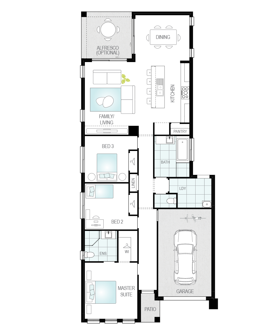 Floor Plan - Shelby Home Design - Now Series - McDonald Jones