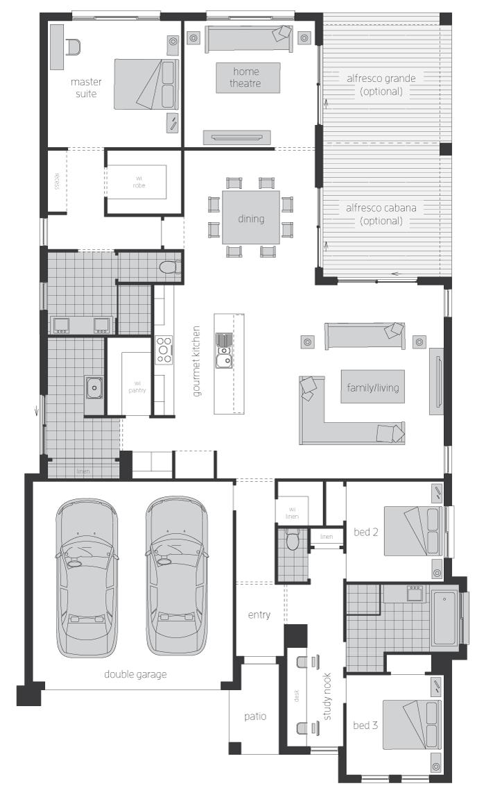 Floor Plan - Ashbrook