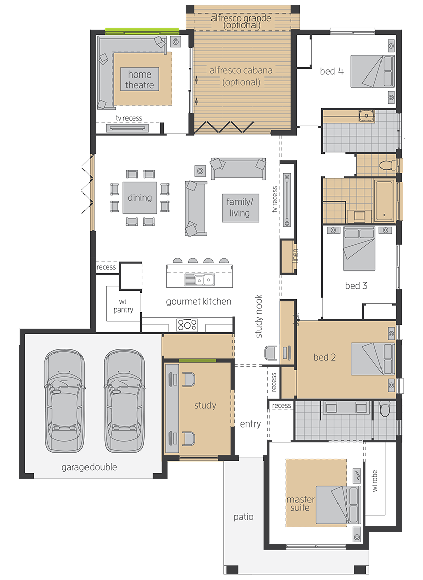 Essington upgrade floorplan lhs