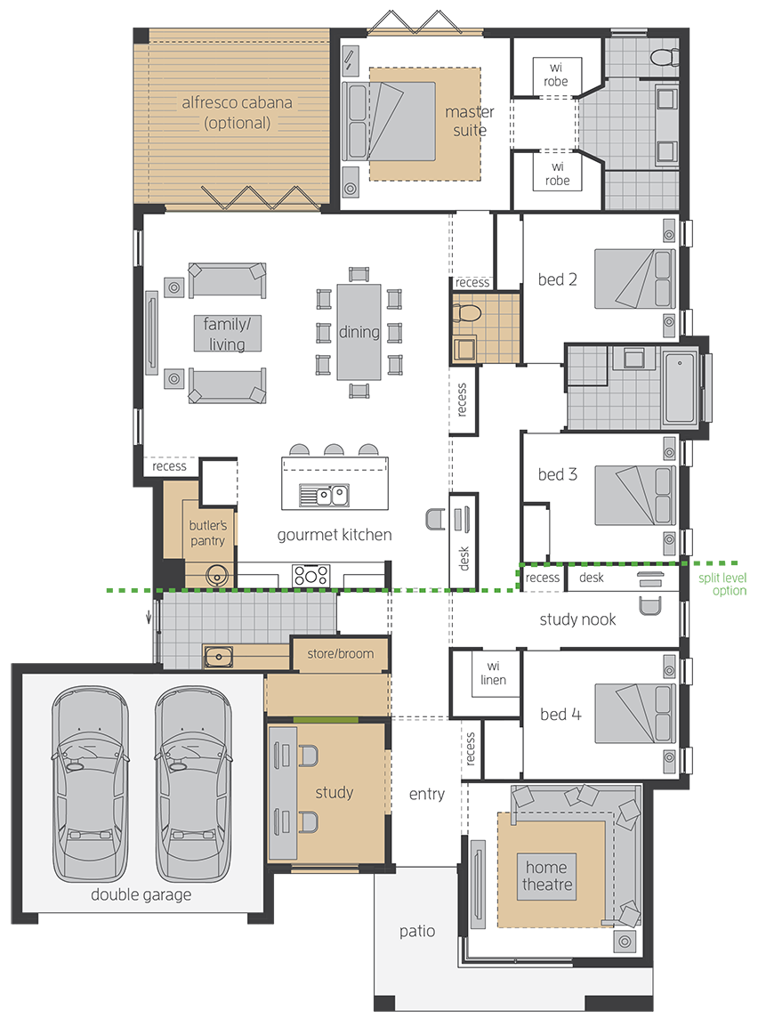 Vienna upgrade floorplan lhs
