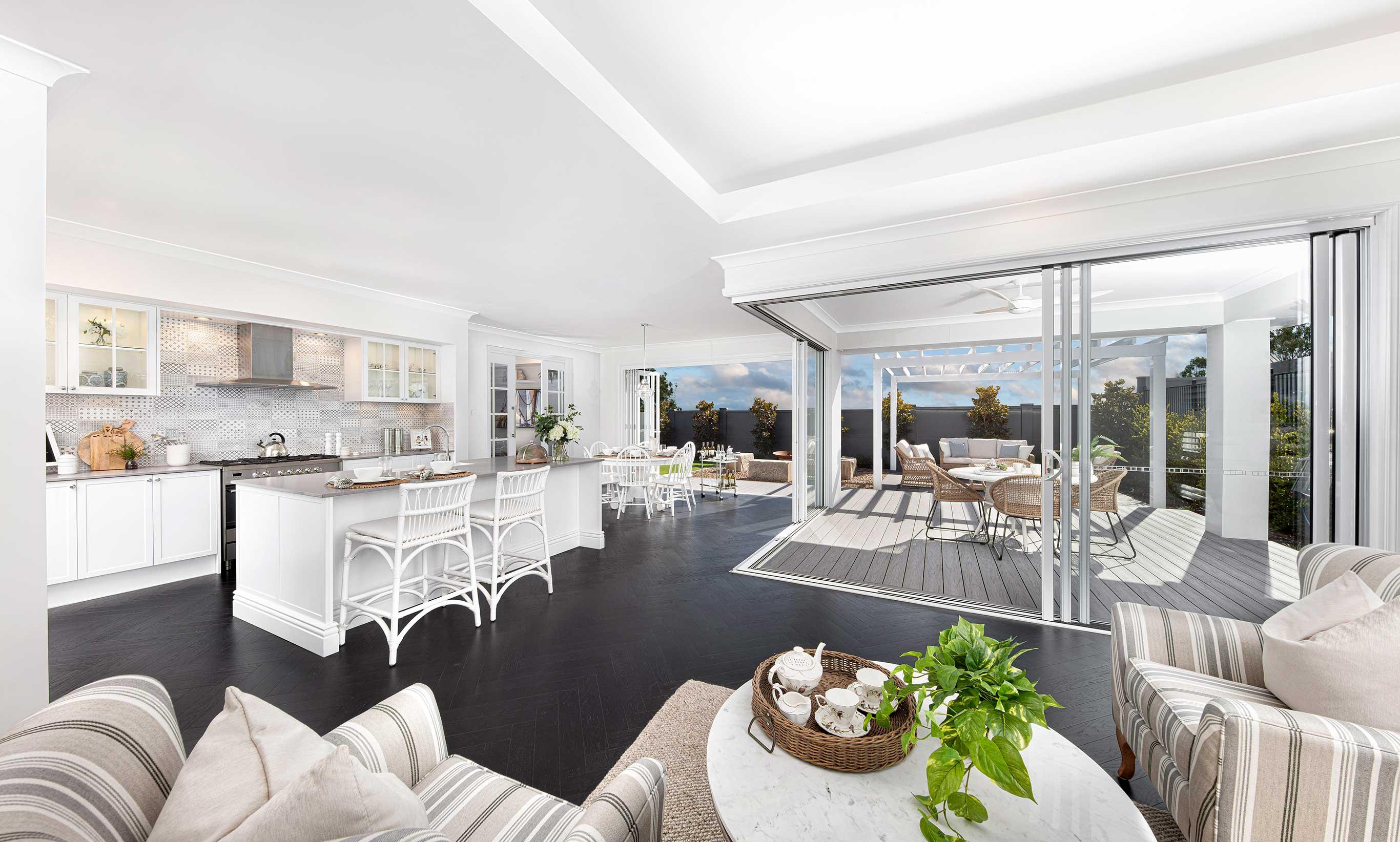 San Marino Manor 16- Family/Living, Alfresco, Dining and Kitchen- McDonald Jones