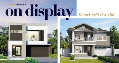 Box Hill Two Storey Display Home Openings
