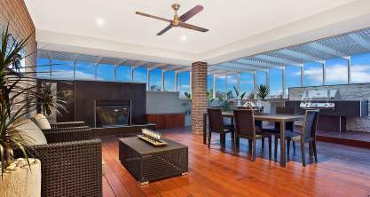 Alfresco - Santorini Display Home - Woongarah - McDonald Jones