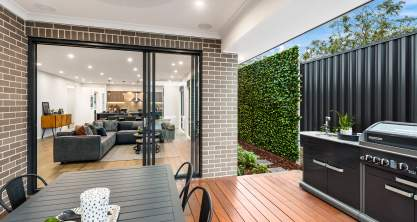Alfresco - Bordeaux Urban House Design - McDonald Jones Homes