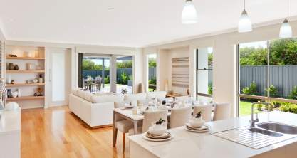 Kitchen - Dining - Living - Bordeaux Executive - McDonald Jones