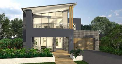 Messena One Two Storey New Home Design