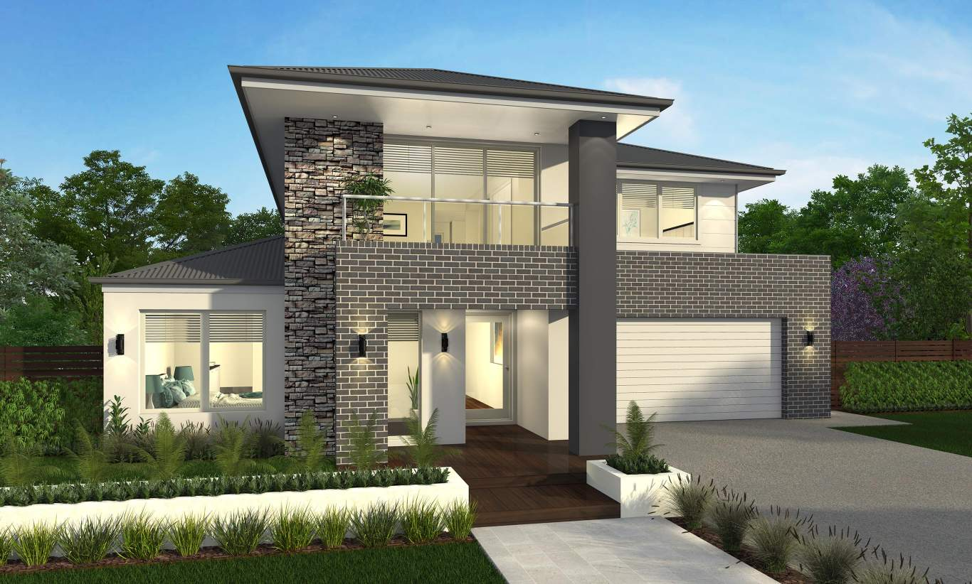 Avondale Two Storey Home Design - Canberra