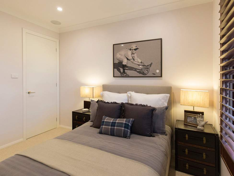 Bedroom - Hermitage Display Home Thornton - McDonald Jones