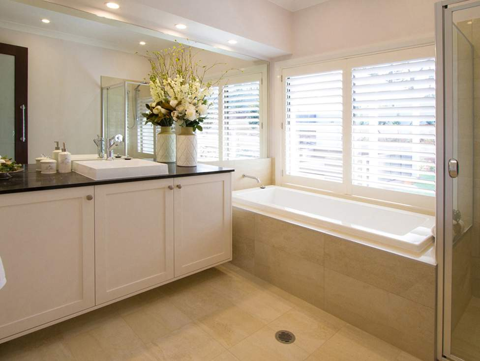 Bathroom - Hermitage Display Home Thornton - McDonald Jones